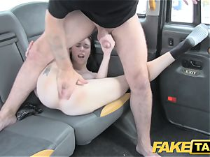 fake taxi guiltless american dame gets donk porked