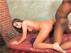 antsy for spunk Tori ebony gets a flow erupted in her mouth